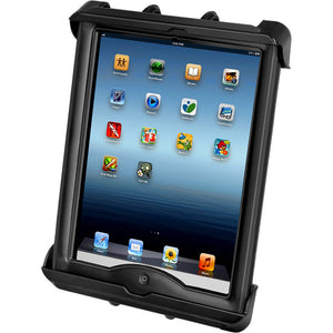 RAM Mount Tab-Tite Universal Clamping Cradle f-Apple iPad w-LifeProof & Lifedge Cases [RAM-HOL-TAB17U] - RAM Mounting Systems