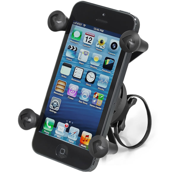 RAM Mount EZ-ON-OFF Bicycle Mount w-Universal X-Grip Cell Phone Holder [RAP-274-1-UN7U] - RAM Mounting Systems