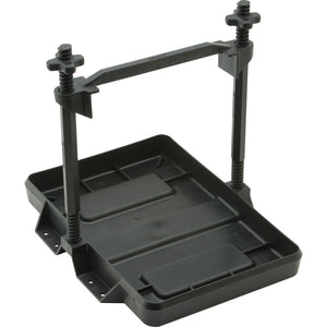 Attwood Heavy-Duty All-Plastic Adjustable Battery Tray - 27 Series [9098-5] - Attwood Marine
