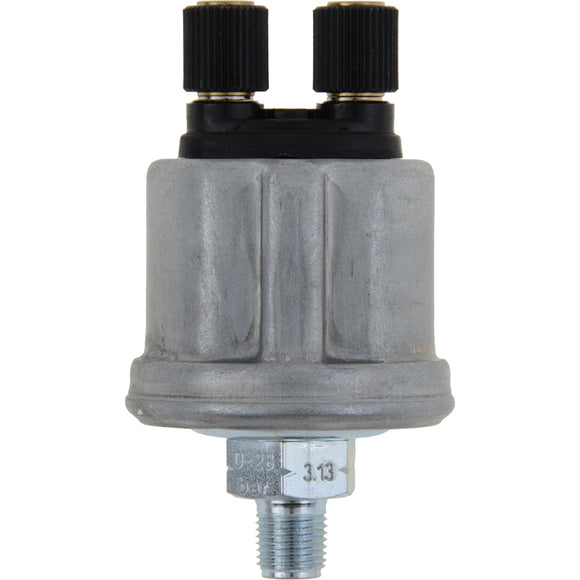 VDO Pressure Sender 400 PSI Floating Ground - 1-8-27NPT 38-8 [360-406]