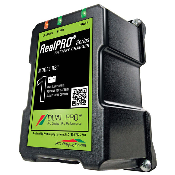 Dual Pro RealPRO Series Battery Charger - 6A - 1-Bank - 12V [RS1] - Dual Pro