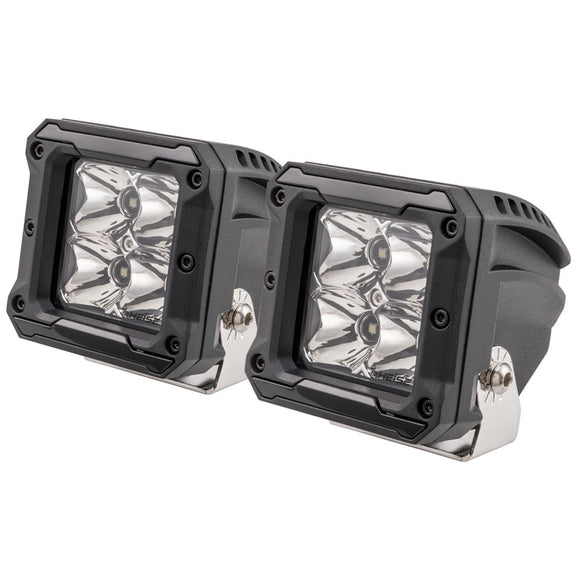 HEISE 4 LED Cube Light w-Harness - Spot Beam- 3