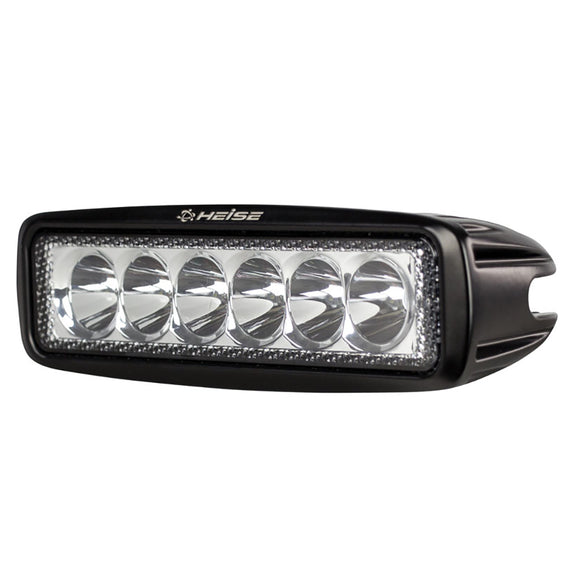 HEISE 6 LED Single Row Driving Light [HE-DL1] - HEISE LED Lighting Systems