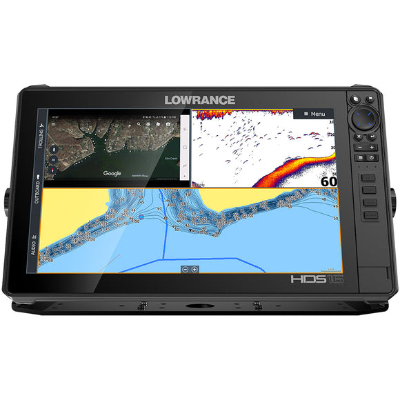 Lowrance HDS-16 LIVE No Transducer w-C-MAP Pro Chart [000-14433-001] - Lowrance