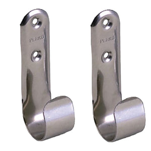 Perko Stainless Steel Boat Hook Holders - Pair [0492DP0STS] - Perko