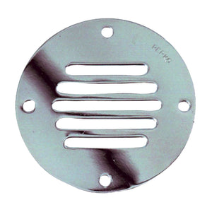 "Perko Chrome Plated Brass Round Locker Ventilator - 2-1-2"" [0330DP1CHR] - Perko"