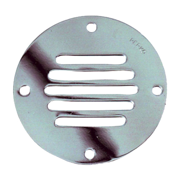 Perko Chrome Plated Brass Round Locker Ventilator - 2-1-2