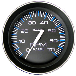 "Faria 4"" Tachometer (7000 RPM) (All Outboard) Coral w-Stainless Steel Bezel [33005]"
