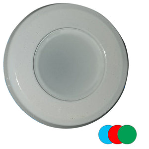 Shadow-Caster Color-Changing White, Blue  Red Dimmable - White Powder Coat Down Light [SCM-DL-WBR]