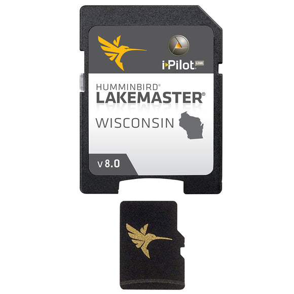 Humminbird LakeMaster Chart - Wisconsin - Version 8 [600025-7]