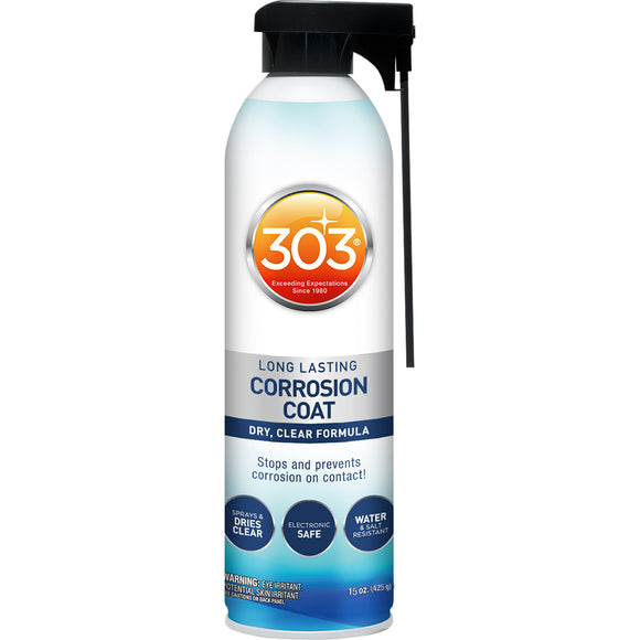 303 Long Lasting Corrosion Coat Aerosol - 15oz *Case of 6* [30396CASE] - 303