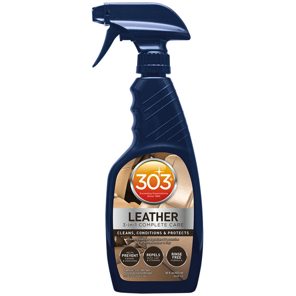 303 Automotive Leather 3-In-1 Complete Care - 16oz [30218] - 303