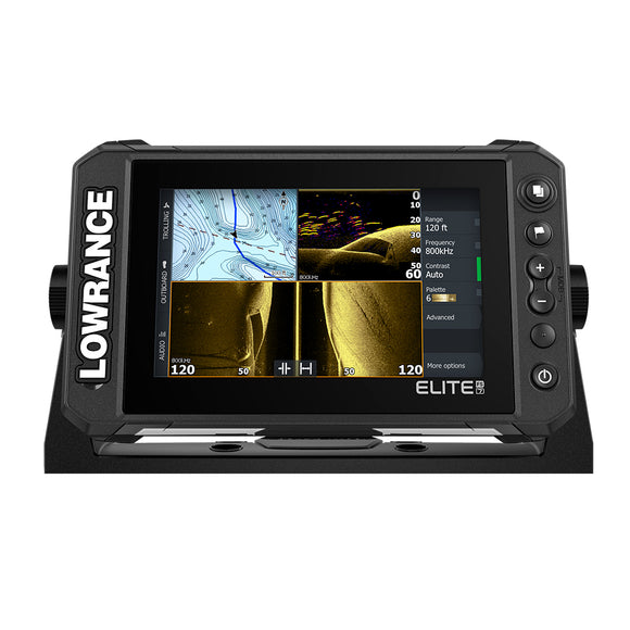 Lowrance Elite FS 7 Chartplotter/Fishfinder w/Active Imaging 3-in-1 Transom Mount Transducer [000-15688-001]