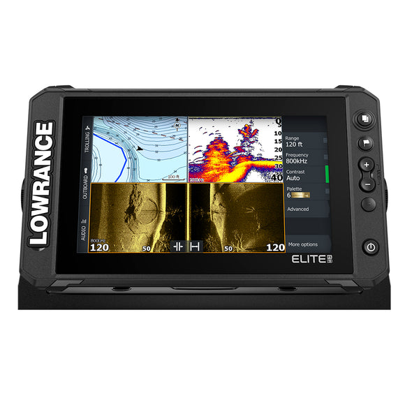 Lowrance Elite FS 9 Chartplotter/Fishfinder w/Active Imaging 3-in-1 Transom Mount Transducer [000-15692-001]