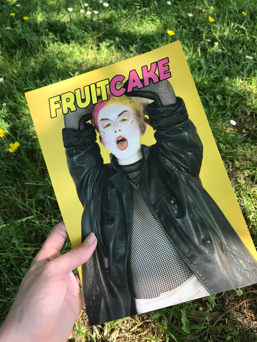FRUITCAKE Magazine Cover Art PRINT