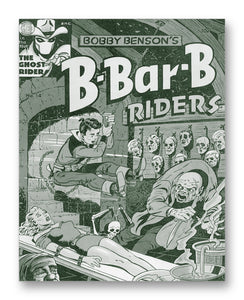 "B-Bar-B Riders - 11"" x 14"" Mono Tone Print (Choose Your Color)"