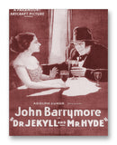 Dr. Jekyll and Mr. Hyde 1920 - 11x14 Monotoned Print