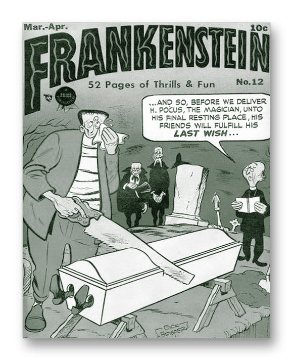 Frankenstein No. 12 - 11