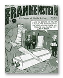 "Frankenstein No. 12 - 11"" x 14"" Mono Tone Print (Choose Your Color)"