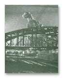 "Gojira 954- 11"" x 14"" Mono Tone Print (Choose Your Color)"