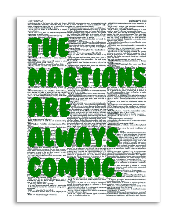 The Martians Are Always Coming 8.5