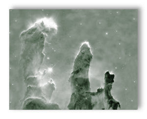 "Pillars of Creation 11"" x 14"" Mono Tone Print (Choose Your Color)"