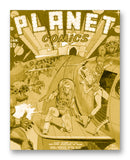 "Planet Comics NO. 1 - 11"" x 14"" Mono Tone Print (Choose Your Color)"
