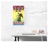 "Remove All Doubt (Rainbow) 13""x22"" Vintage Style Showprint Poster - Concert Bill - Home Nostalgia Decor Wall Art Print"