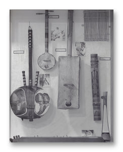"Plucked String Instruments No. 2 - 11"" x 14"" Mono Tone Print (Choose Your Color)"
