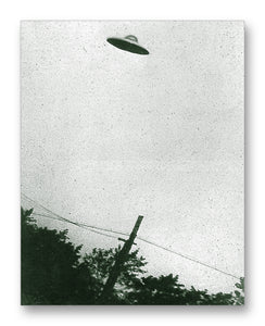"Proported UFO - 11"" x 14"" Mono Tone Print (Choose Your Color)"