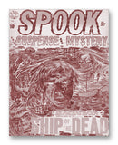 "SPOOK! NO. 27 - 11"" x 14"" Mono Tone Print (Choose Your Color)"