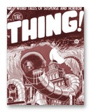 "Thing NO. 15 - 11"" x 14"" Mono Tone Print (Choose Your Color)"