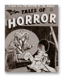 "Tales of Horror NO. 9 - 11"" x 14"" Mono Tone Print (Choose Your Color)"