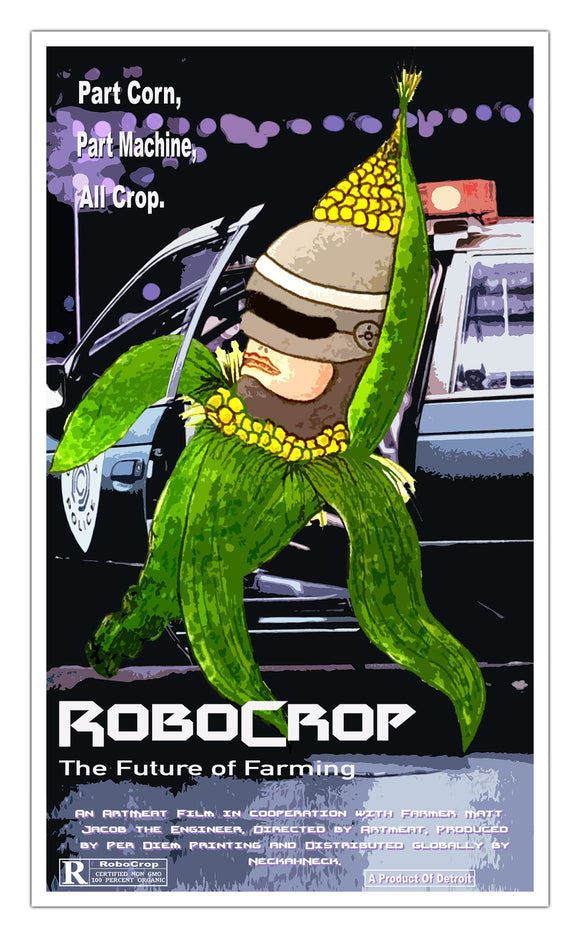 Robo Crop Original Showprint Poster 13