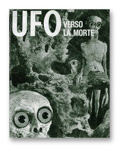 "UFO Italian Comic 11"" x 14"" Mono Tone Print (Choose Your Color)"