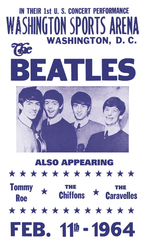 The Beatles - Washington Sports Arena - 13