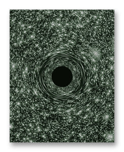 "Behemoth Black Hole 11"" x 14"" Mono Tone Print (Choose Your Color)"