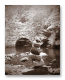 "Cairn 11"" x 14"" Mono Tone Print (Choose Your Color) - Jacob Andrew Dodge Artist Edition"
