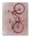 "USSR Motorized Bicycle W-902 11"" x 14"" Mono Tone Print (Choose Your Color)"