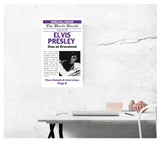 "The World Herald - Elvis Presley Dies at Graceland 13""x22"" Vintage Style Showprint Poster - Concert Bill - Home Nostalgia Decor Wall Art Print"
