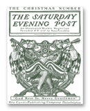 "Saturday Evening Post Vol174 No23 11"" x 14"" Mono Tone Print (Choose Your Color)"