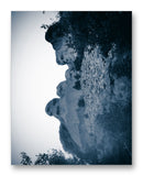 "Mount Rushmore Through Trees 11"" x 14"" Mono Tone Print (Choose Your Color) - Jacob Andrew Dodge Artist Edition"