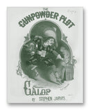 "The Gunpowder Plot 11"" x 14"" Mono Tone Print (Choose Your Color)"