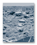 "Mars Pathfinder 11"" x 14"" Mono Tone Print (Choose Your Color)"