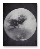 "Titan from Cassini 11"" x 14"" Mono Tone Print (Choose Your Color)"