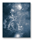 "Center of the Milky Way 11"" x 14"" Mono Tone Print (Choose Your Color)"