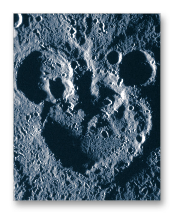 Mickey Mouse Crater on Mercury 11