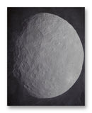 "Ceres from Dawn 11"" x 14"" Mono Tone Print (Choose Your Color)"