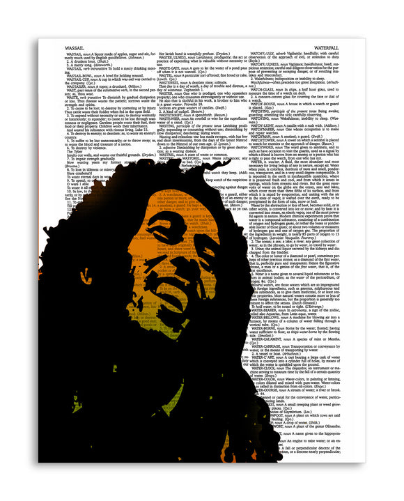 Bob Marley Illustration 8.5