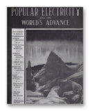 "Popular Electricity 10-1913 11"" x 14"" Mono Tone Print (Choose Your Color)"